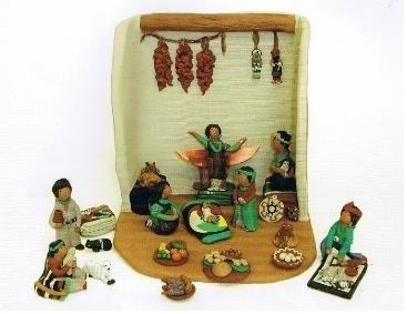 Kleinkrippe, Weihnacht, Indios