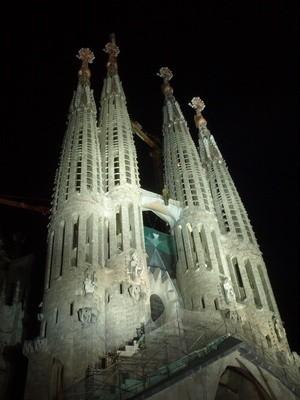 Sagrada Família (Antoni Gaudi)             Foto: Wolfgang Dirscherl  / pixelio.de
