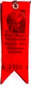 Anstecker für das Fest 1939 (Karl-May-Haus)
