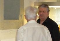 Walter Zaugg an der Karl May Ausstellung in Freiburg im vergangenen Jahr