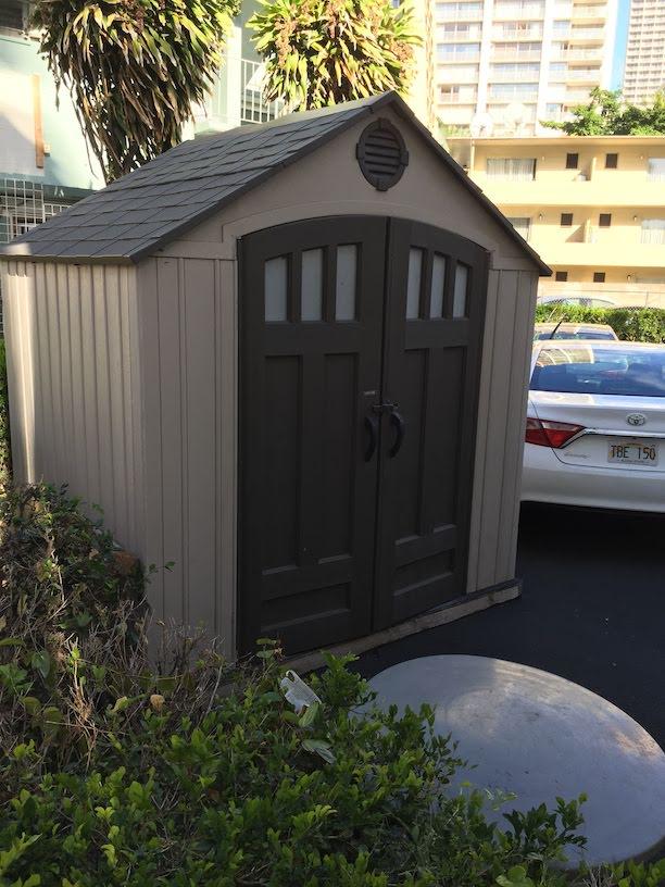 ガーデンドクター柴ちゃんがハワイで見つけた物置!