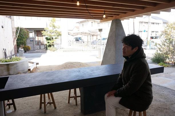こんな素敵なキッチンも名和氏の頭の中からやってきた!