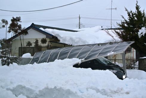 5位は大雪とカーポートのお話 今年は名古屋でも大雪が降ったのでその関係もある?