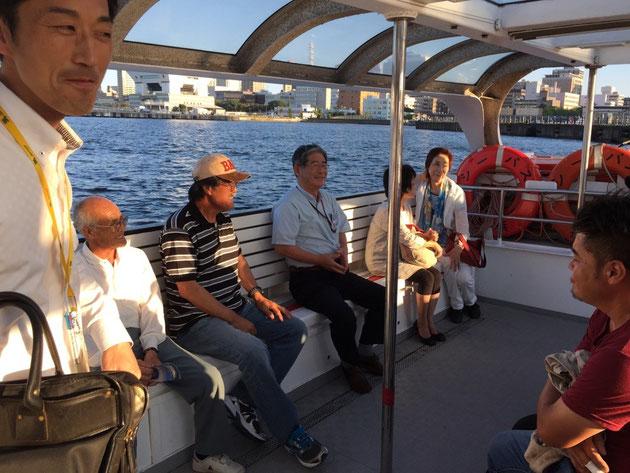 柴垣グリーンテック2015の研修旅行の様子。