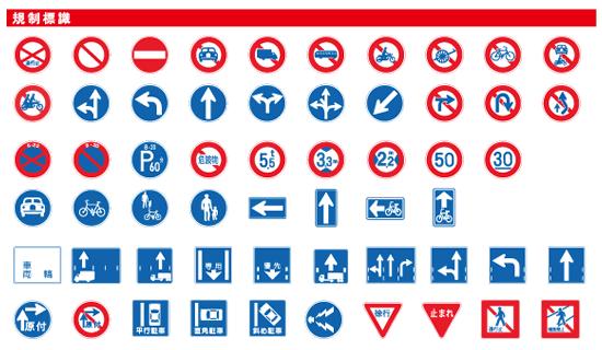 道路標識いろいろ