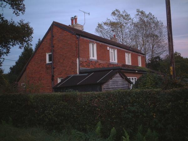 柴ちゃんが仕事をしていたときに住んでいた家