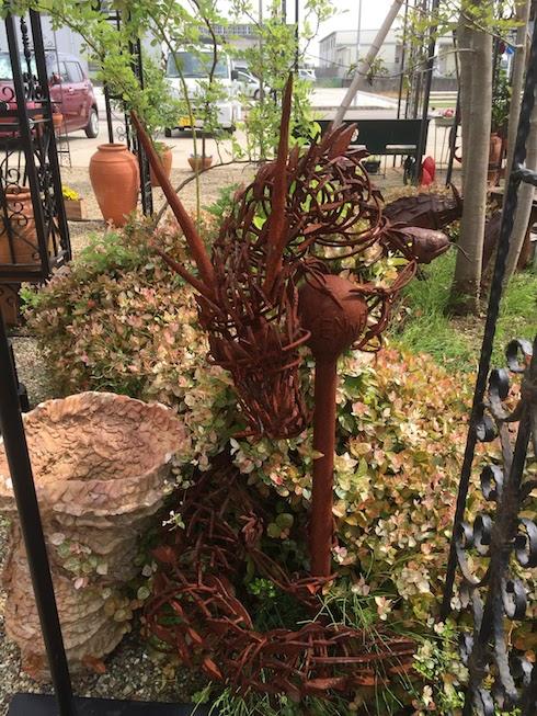 これはアイアンで作った竜のオブジェ