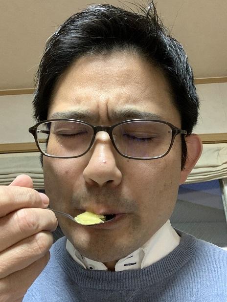 ガーデンドクター柴ちゃん、お客様から頂いたハッサクを食す!