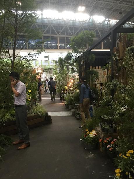 エクステリア&ガーデンフェア2017名古屋は植物販売も充実!
