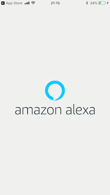 スマホにアマゾンアレクサのアプリをいれて初期設定をする