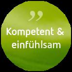 Psychotherapie Anja de Boer Button Klientenfeedback: Kompetent & einfühlsam