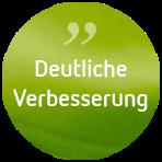 Psychotherapie Anja de Boer Button Klientenfeedback Deutliche Verbesserung