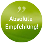 Psychotherapie Anja de Boer - Button Klientenfeedback: Absolute Empfehlung