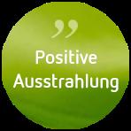 Anja de Boer Psychotherapie Button Klientenfeedback Positive Ausstrahlung