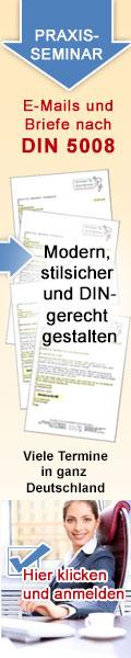 Unterschrift Din 5008 Neu