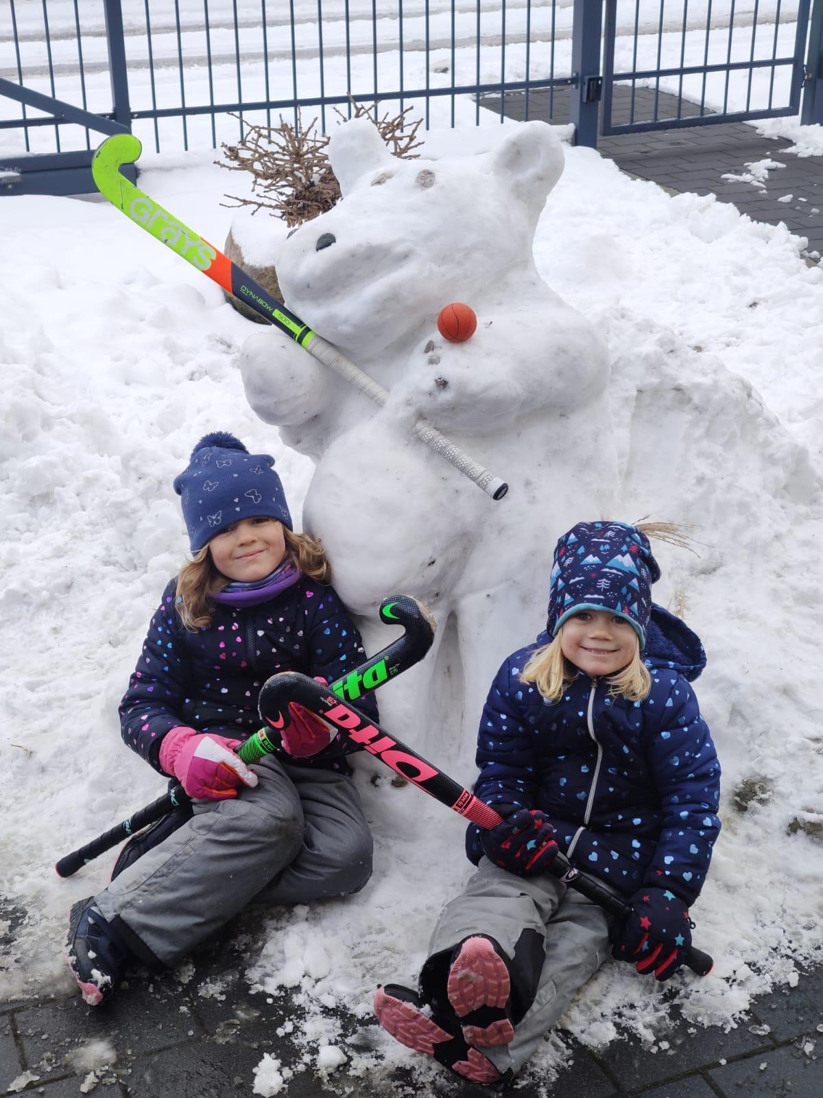 Schnee-Tresi der Familie Frey