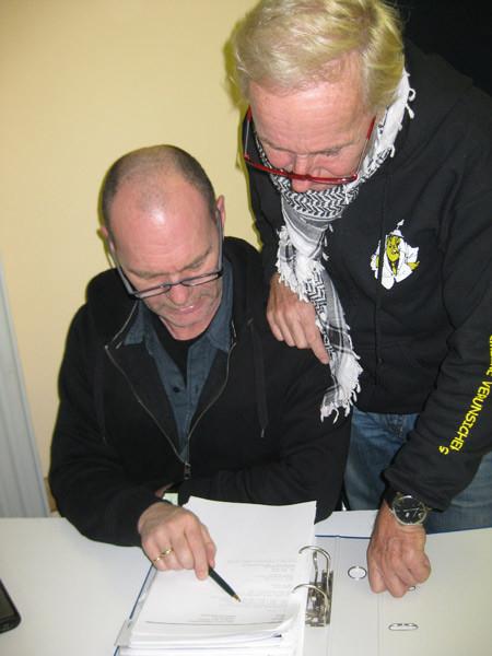 Klaus & Tourleiter Lothar Schleßmann