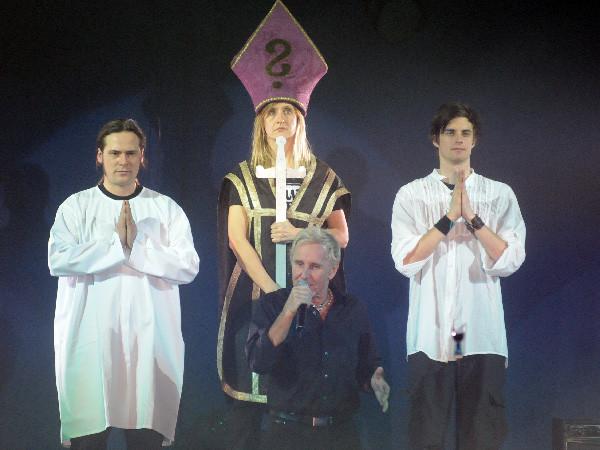 """""""Nostradamus"""" Elmar, Päpstin Eva, Walter"""