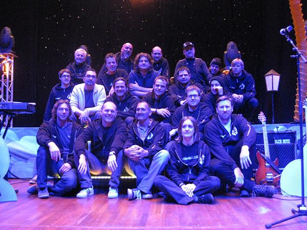 Band & Crew Tourabschluss