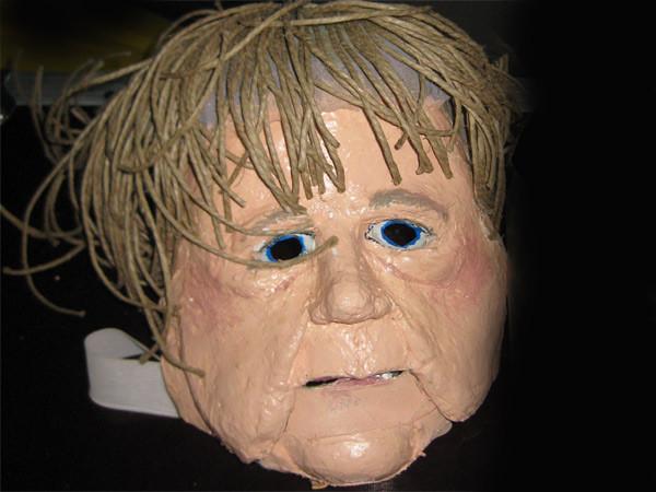 Angela Merkel Maske