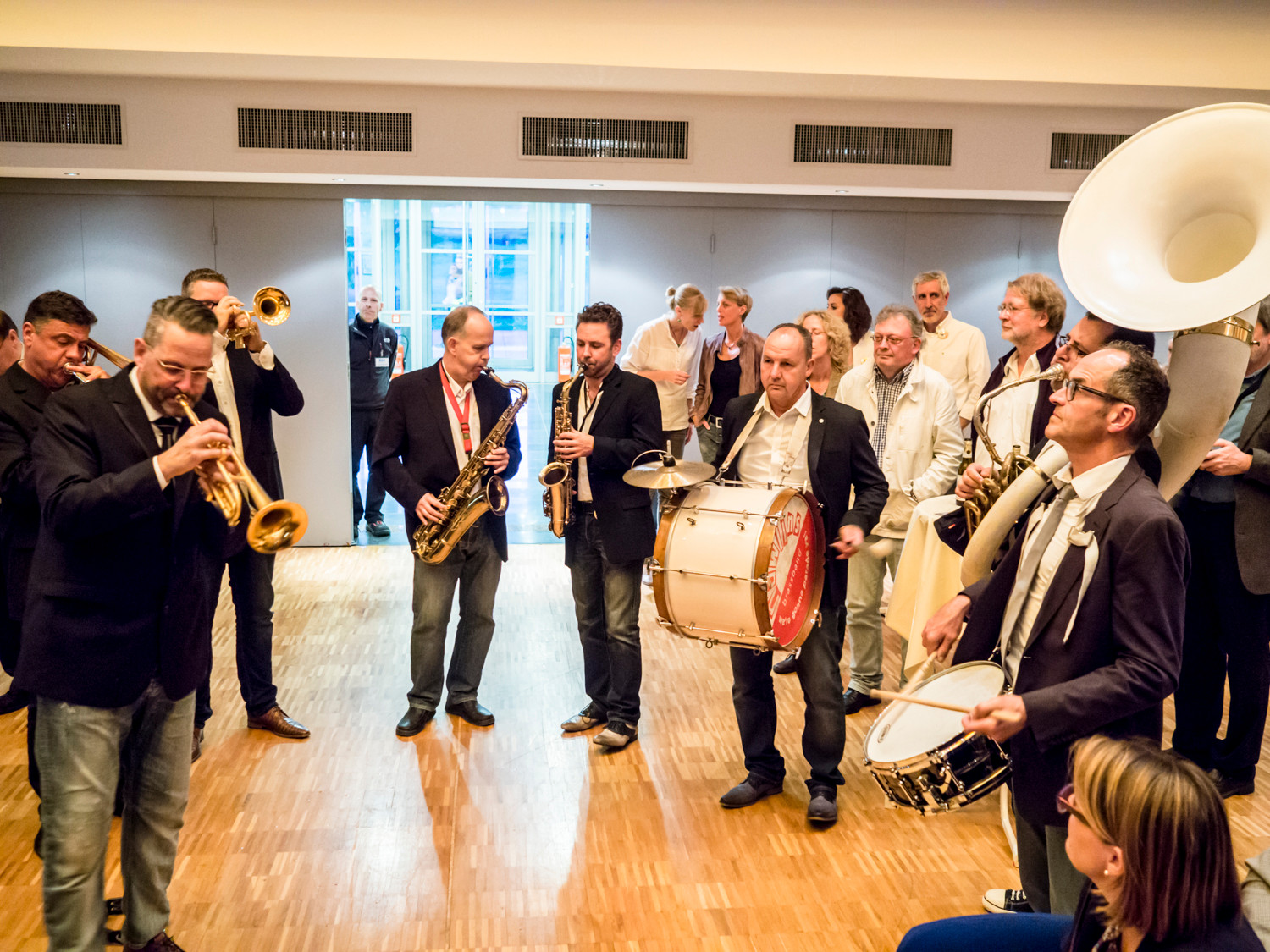 Big Easy in Concert, Stadthalle - N'Awlins Brass Band