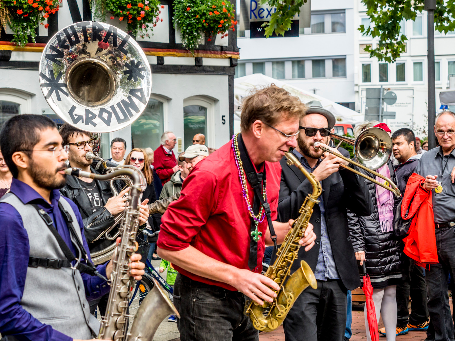 32. LIVE JAZZ Bad Hersfeld - Neutral Ground Brass Band
