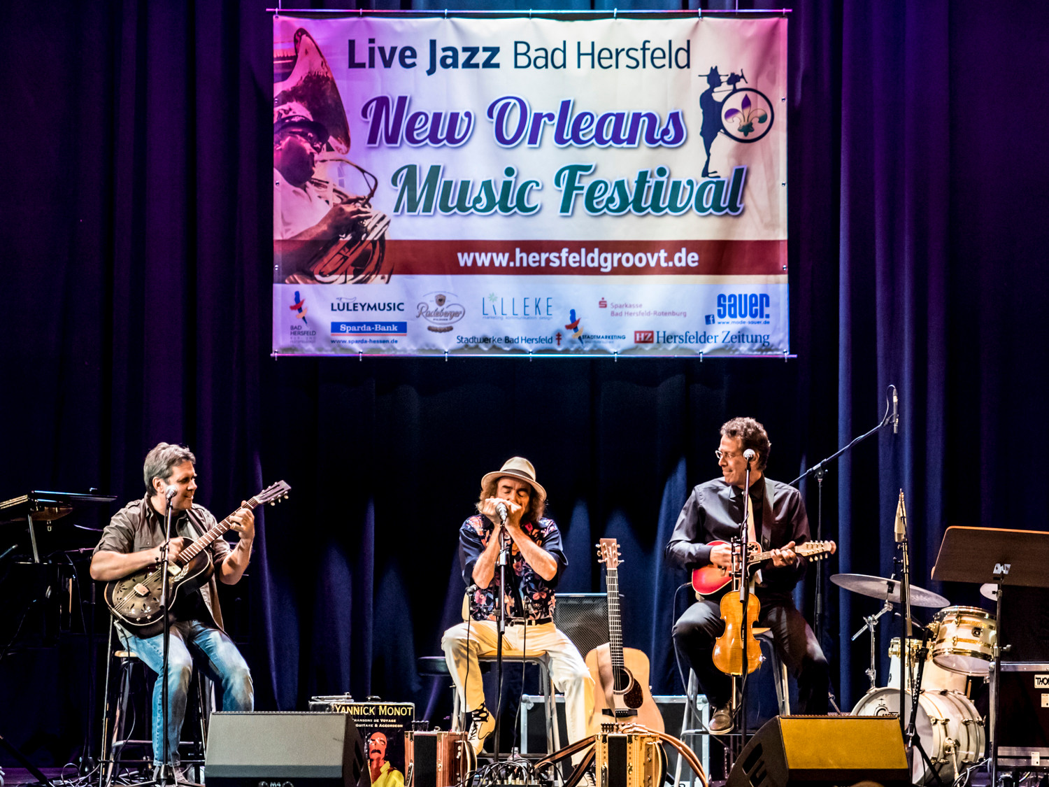 Big Easy in Concert, Stadthalle - Int. Cajun Trio