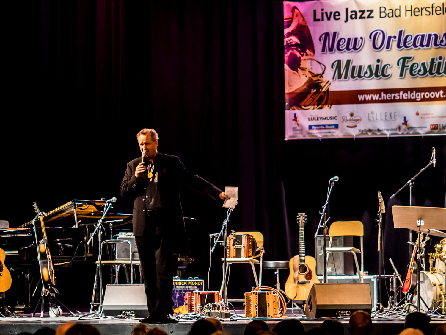 Big Easy in Concert, Stadthalle - Moderation: Jan Luley