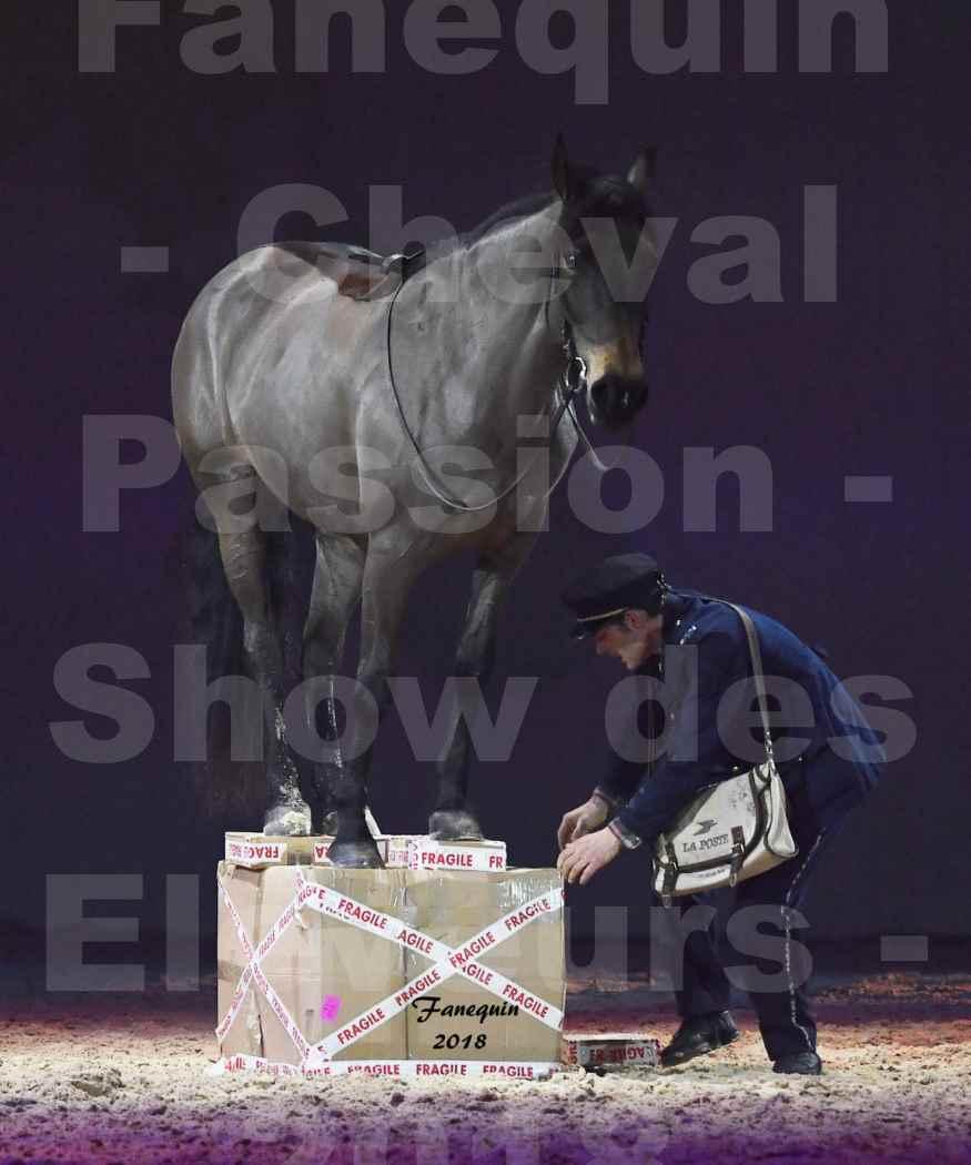 Cheval Passion 2018 - Spectacle les Crinières d'OR - SAMEDI - Le FACTEUR 2 - 1