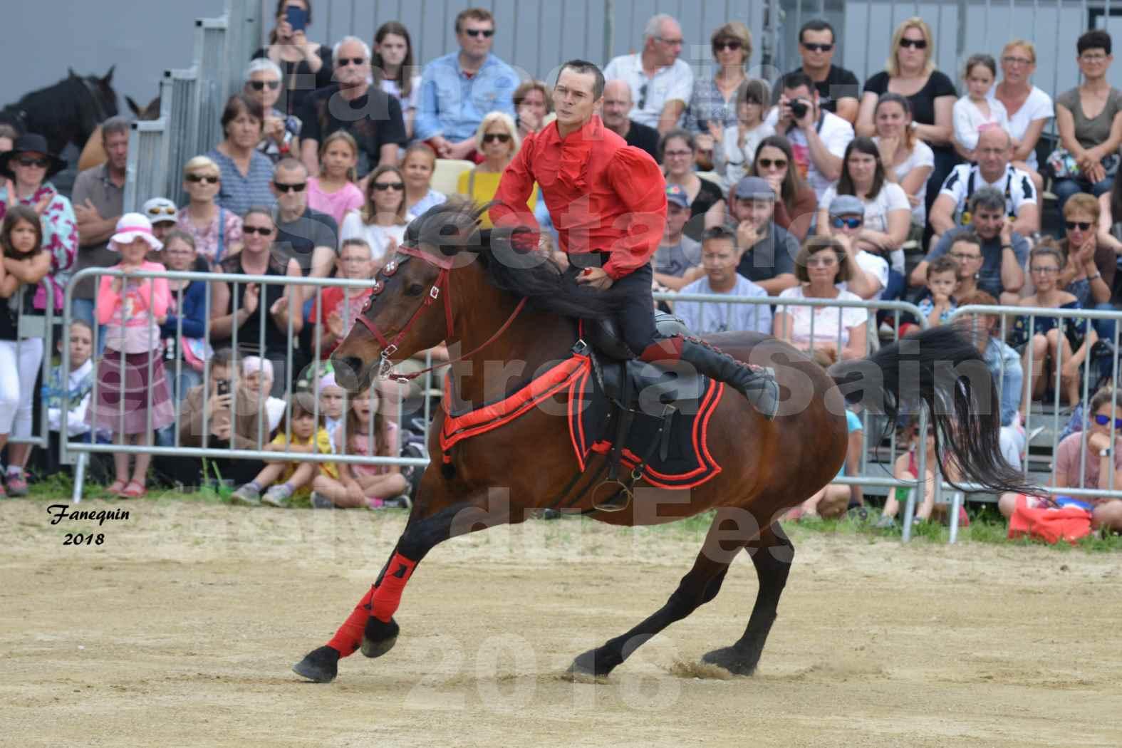 Spectacle Équestre le 3 juin 2018 à Saint Gély du Fesc - Voltige équestre - Troupe de Jean Antoine FIRMIN - 02