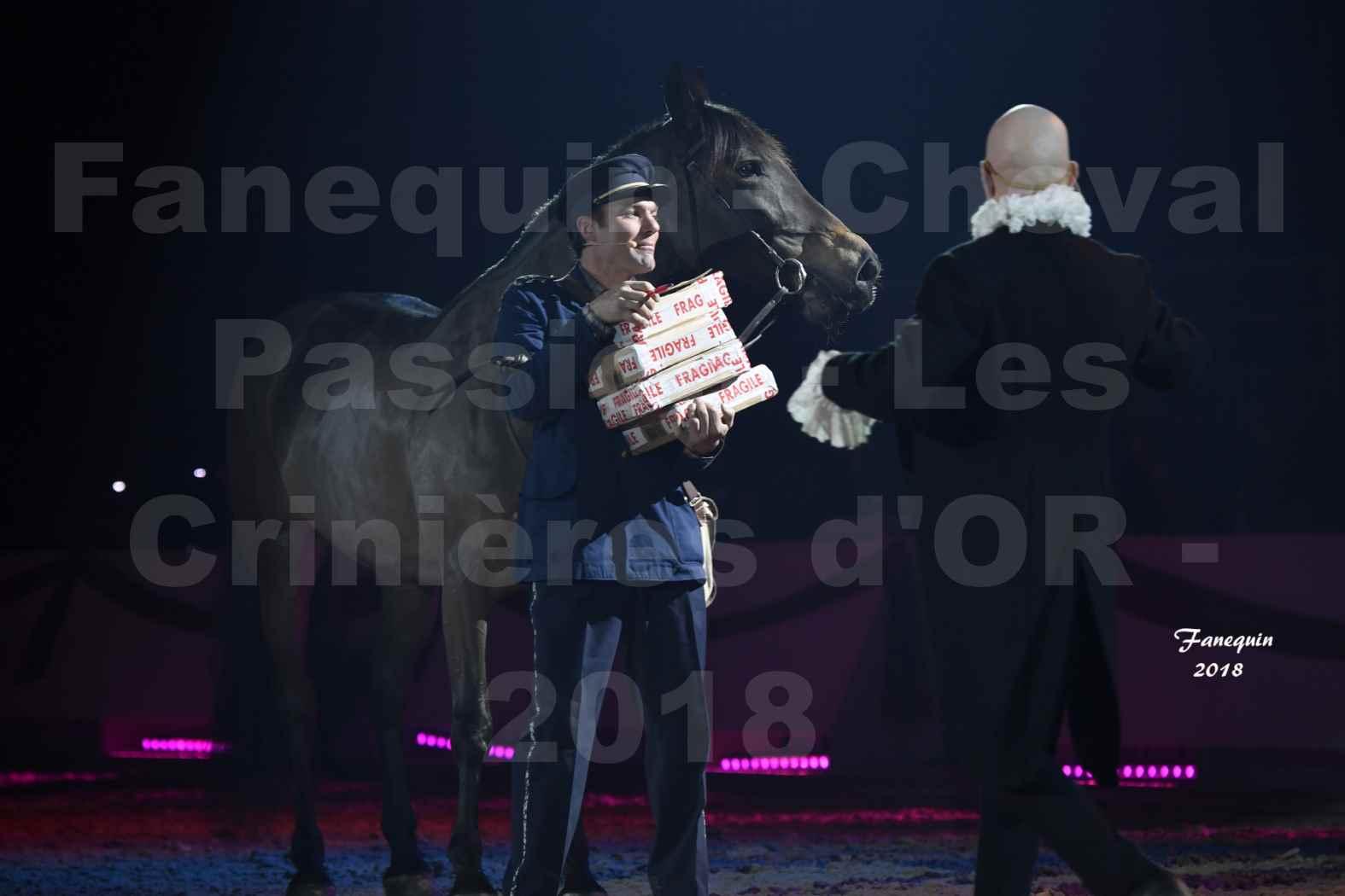 Cheval Passion 2018 - Spectacle les Crinières d'OR - MERCREDI - Le FACTEUR 2 - 1