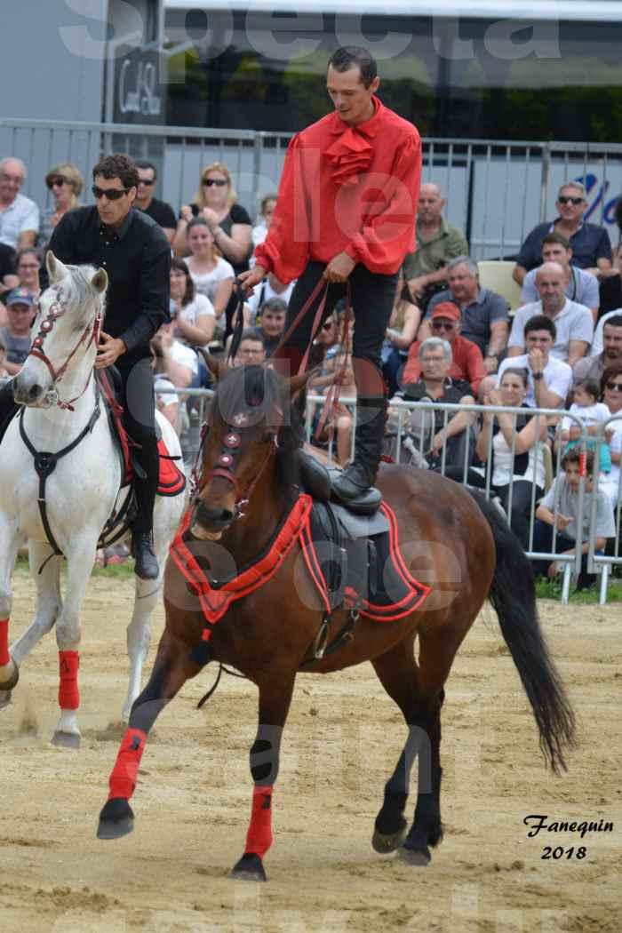 Spectacle Équestre le 3 juin 2018 à Saint Gély du Fesc - Voltige équestre - Troupe de Jean Antoine FIRMIN - 68
