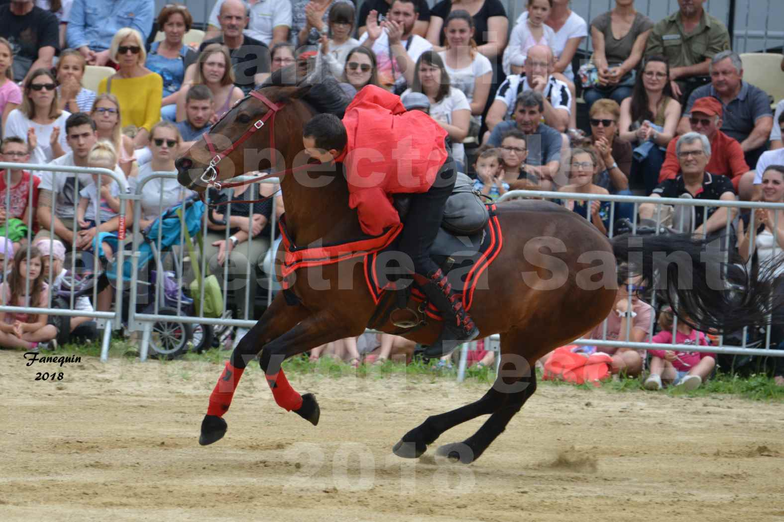 Spectacle Équestre le 3 juin 2018 à Saint Gély du Fesc - Voltige équestre - Troupe de Jean Antoine FIRMIN - 66