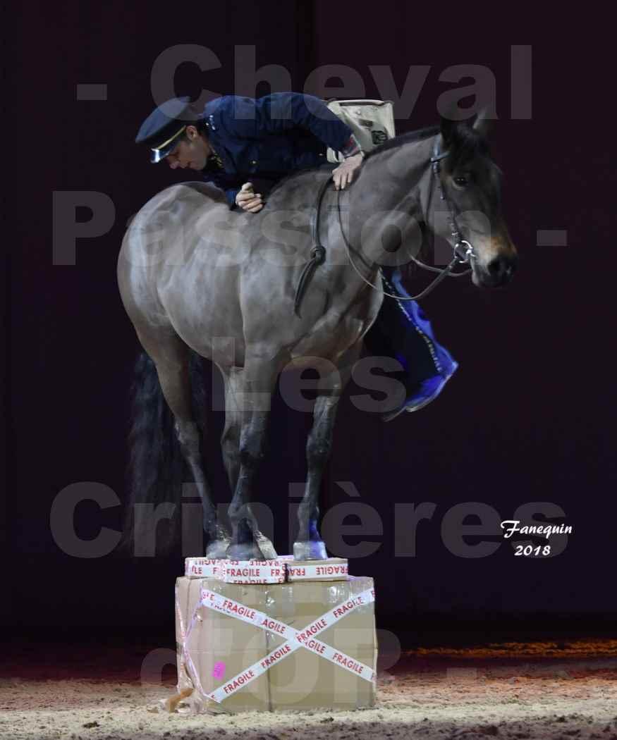 Cheval Passion 2018 - Spectacle les Crinières d'OR - MERCREDI - Le FACTEUR 2 - 6