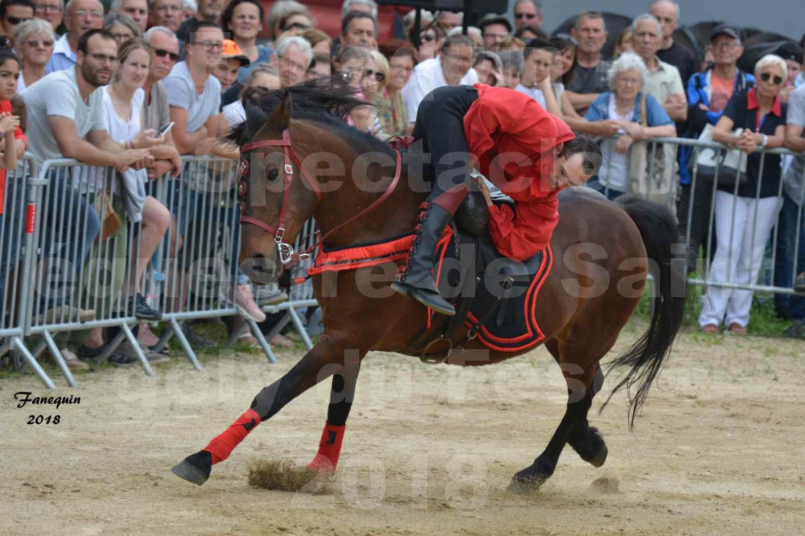 Spectacle Équestre le 3 juin 2018 à Saint Gély du Fesc - Voltige équestre - Troupe de Jean Antoine FIRMIN - 39