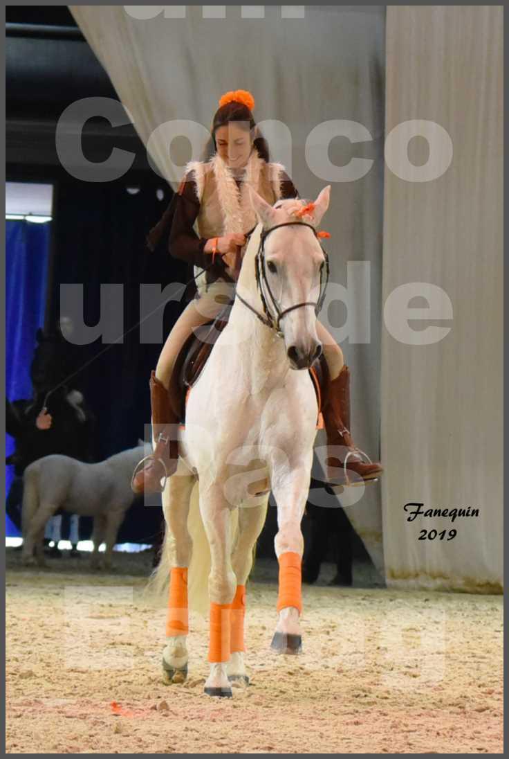 """Cheval Passion 2019 - Concours de Pas Espagnol - Étalon """"ZIDANE"""" - 57"""