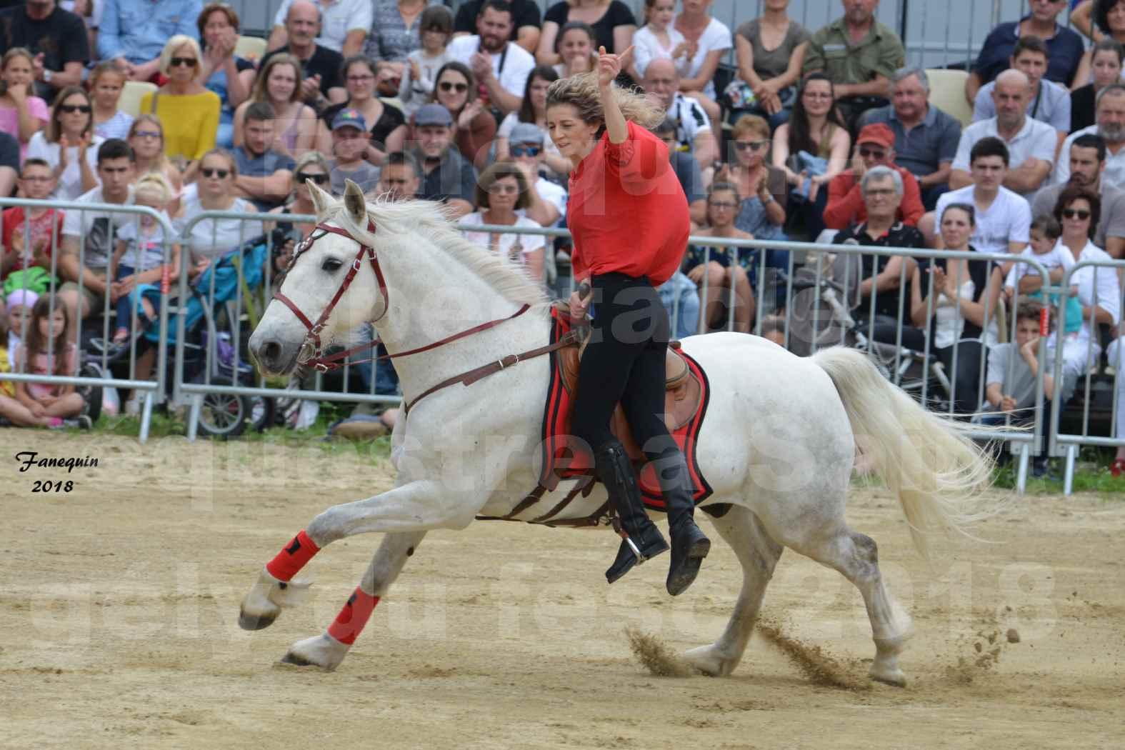 Spectacle Équestre le 3 juin 2018 à Saint Gély du Fesc - Voltige équestre - Troupe de Jean Antoine FIRMIN - 70