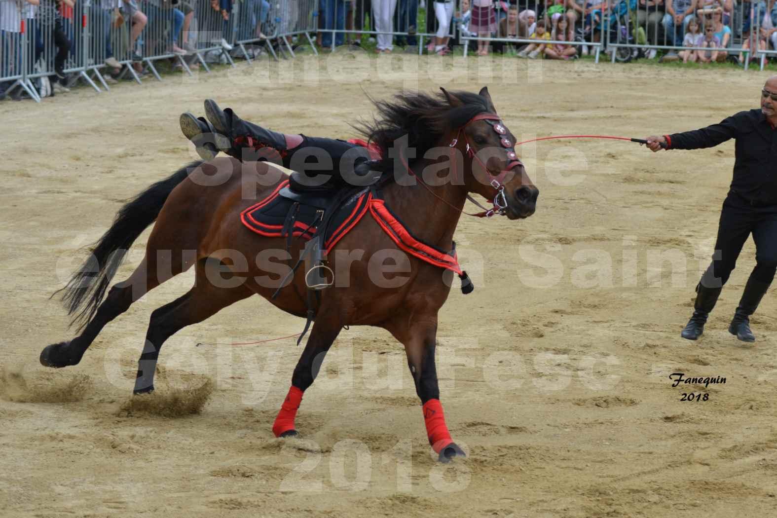 Spectacle Équestre le 3 juin 2018 à Saint Gély du Fesc - Voltige équestre - Troupe de Jean Antoine FIRMIN - 19