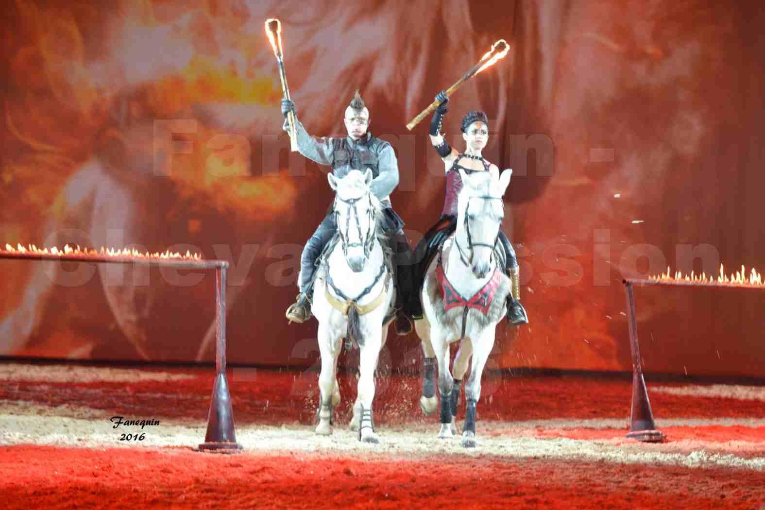 Cheval Passion 2016 - spectacle les Crinières d'OR - Compagnie ZARKAM - 1
