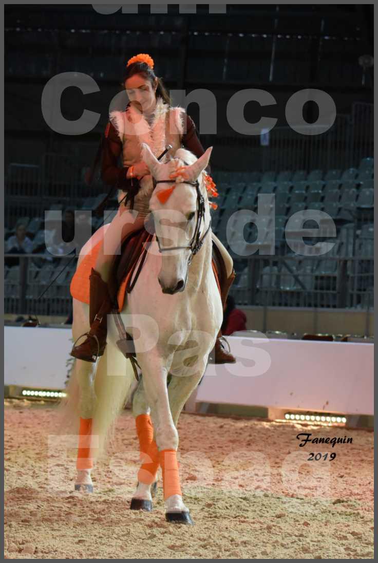 """Cheval Passion 2019 - Concours de Pas Espagnol - Étalon """"ZIDANE"""" - 25"""