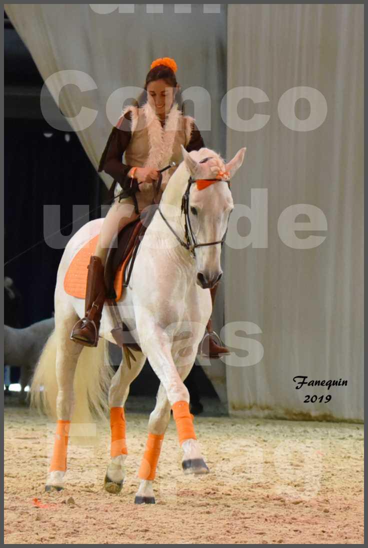"""Cheval Passion 2019 - Concours de Pas Espagnol - Étalon """"ZIDANE"""" - 58"""