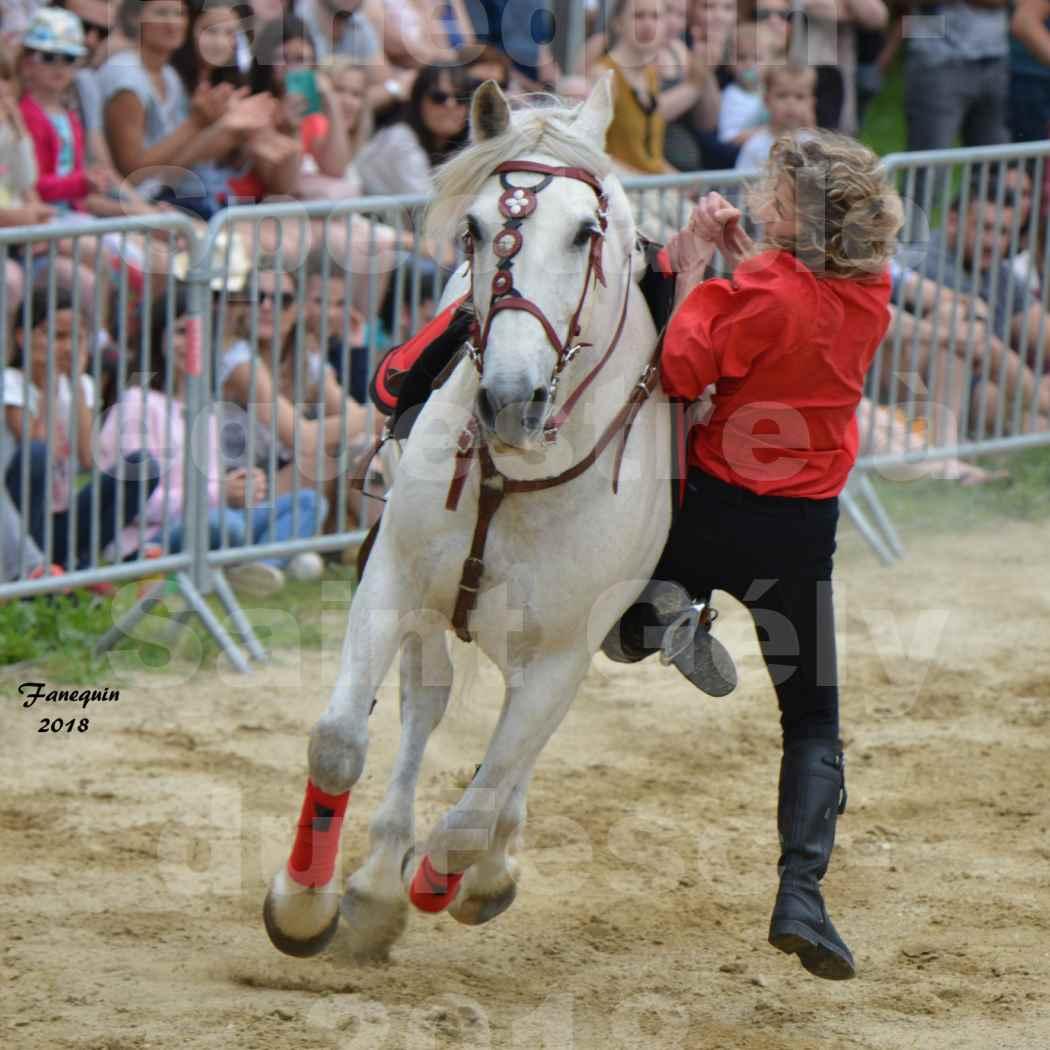 Spectacle Équestre le 3 juin 2018 à Saint Gély du Fesc - Voltige équestre - Troupe de Jean Antoine FIRMIN - 49
