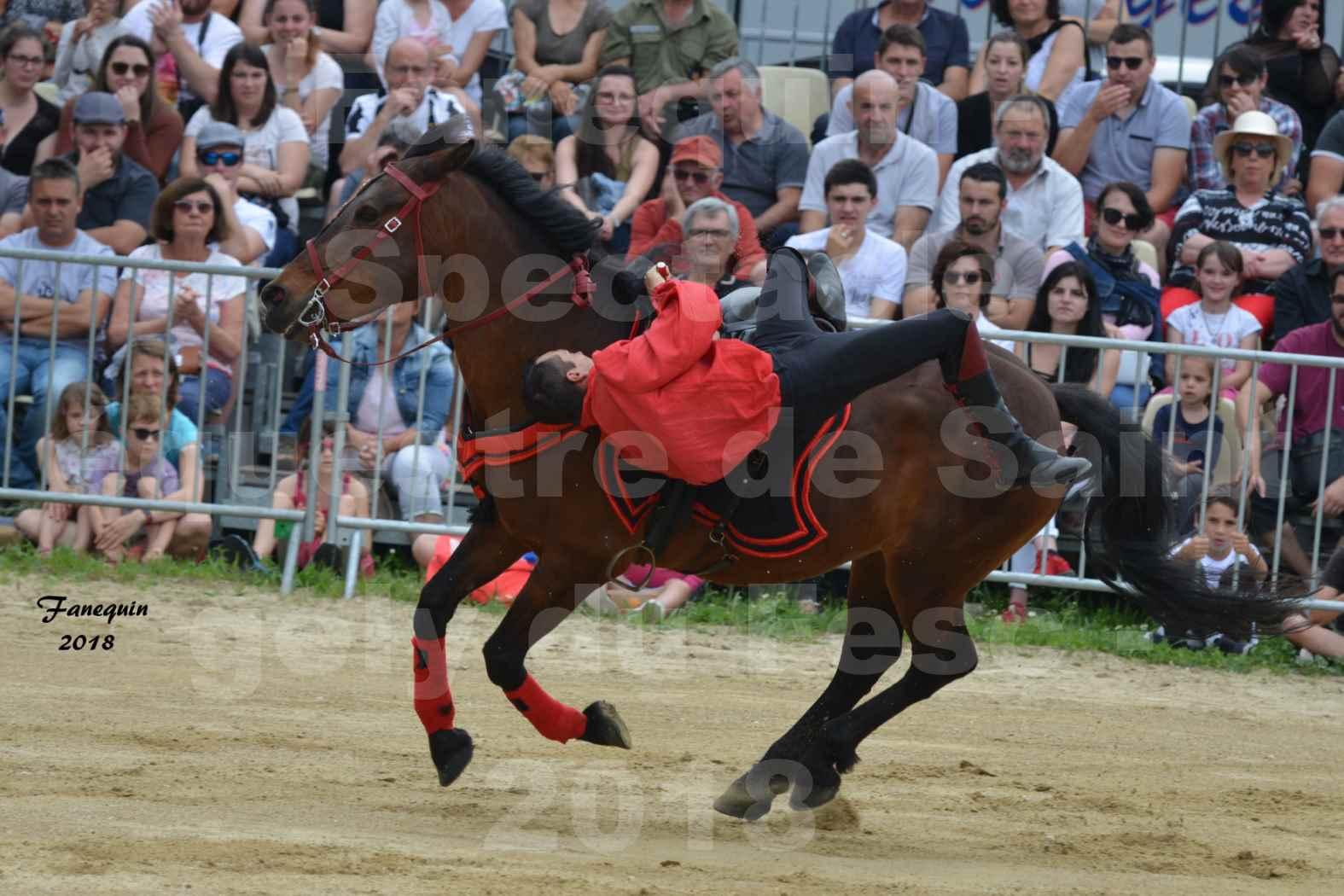 Spectacle Équestre le 3 juin 2018 à Saint Gély du Fesc - Voltige équestre - Troupe de Jean Antoine FIRMIN - 36