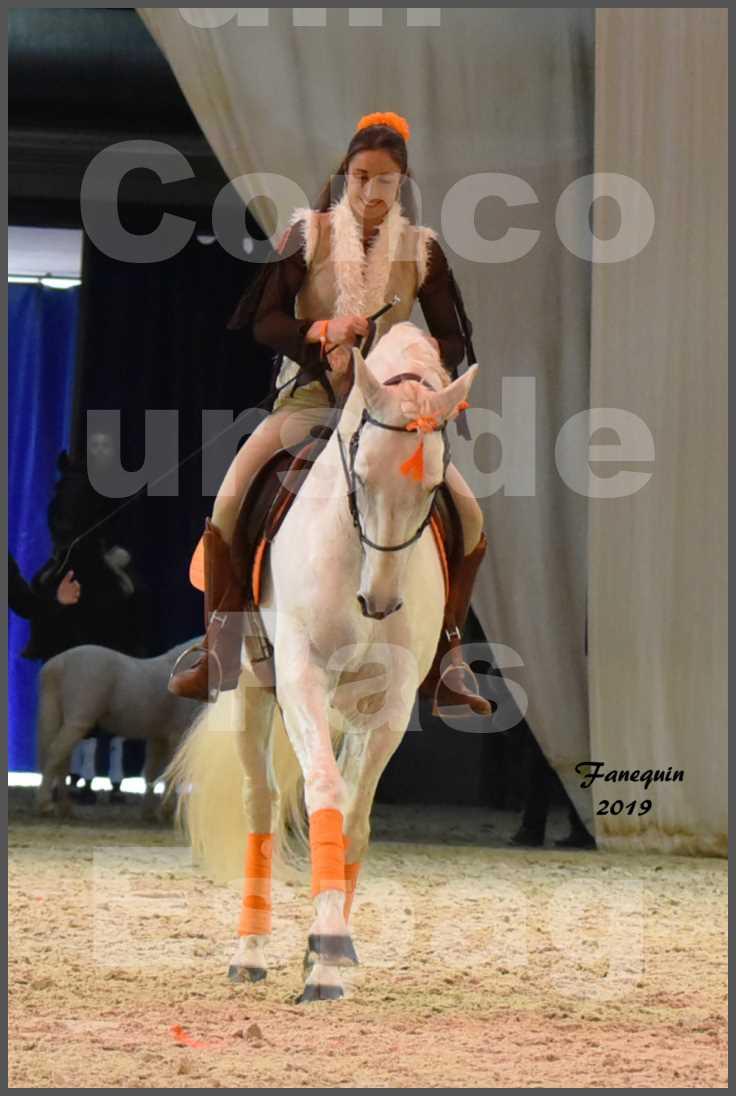 """Cheval Passion 2019 - Concours de Pas Espagnol - Étalon """"ZIDANE"""" - 56"""