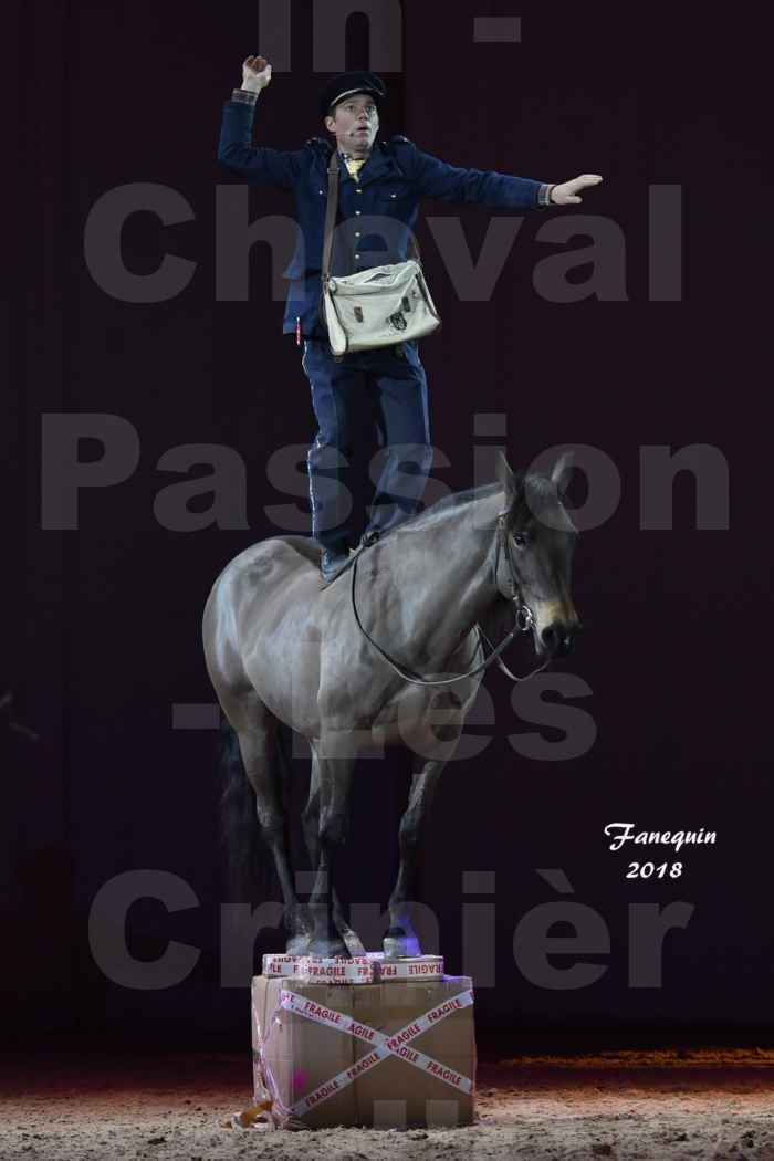 Cheval Passion 2018 - Spectacle les Crinières d'OR - MERCREDI - Le FACTEUR 2 - 8