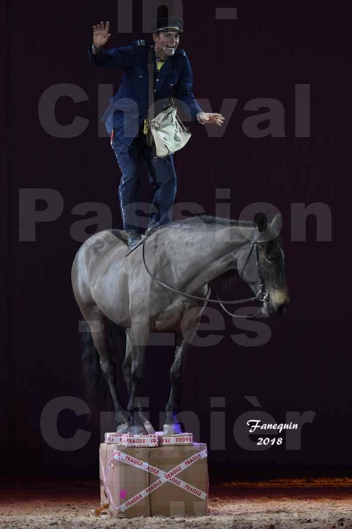Cheval Passion 2018 - Spectacle les Crinières d'OR - MERCREDI - Le FACTEUR 2 - 7