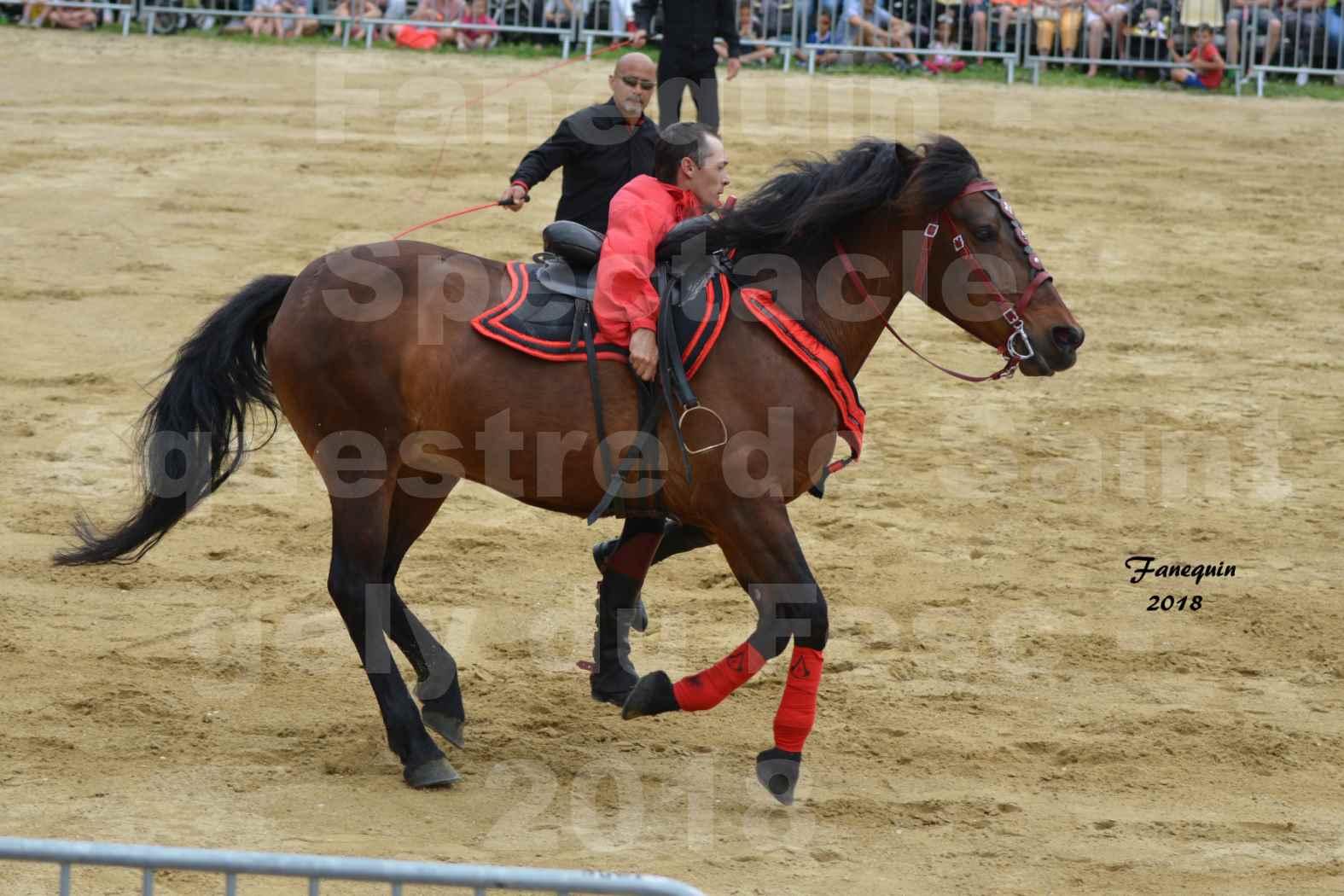 Spectacle Équestre le 3 juin 2018 à Saint Gély du Fesc - Voltige équestre - Troupe de Jean Antoine FIRMIN - 51