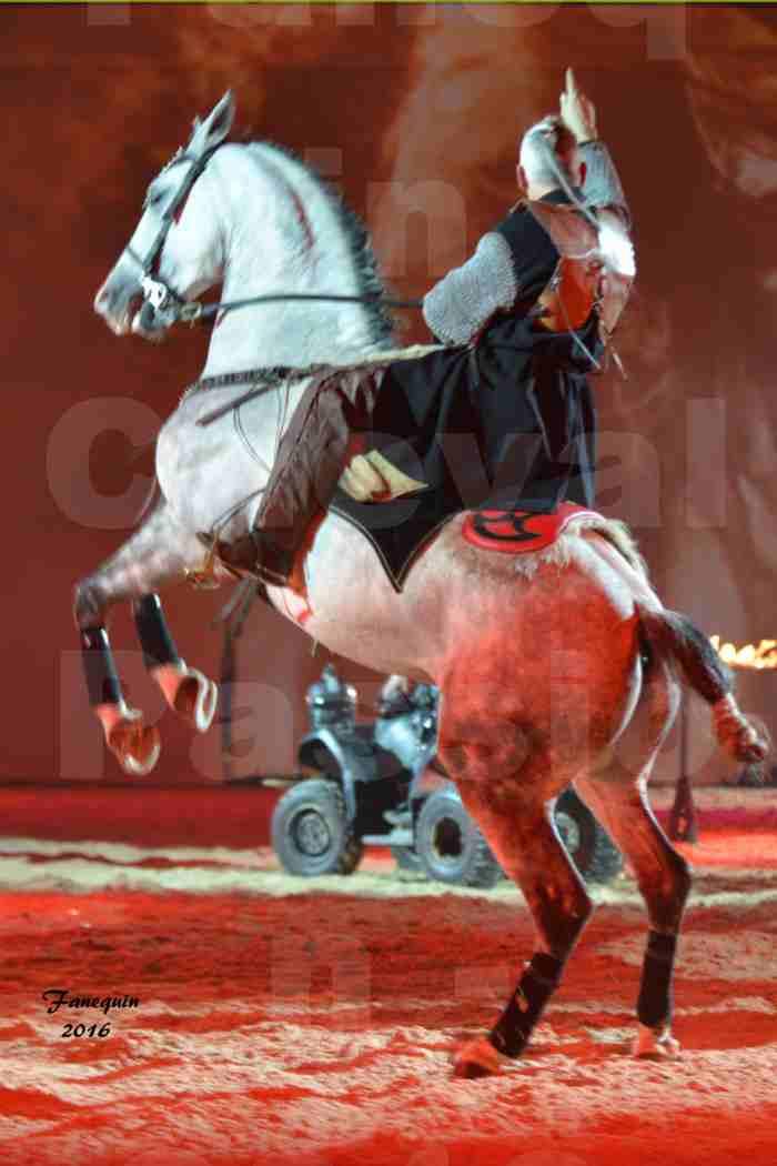 Cheval Passion 2016 - spectacle les Crinières d'OR - Compagnie ZARKAM - 6