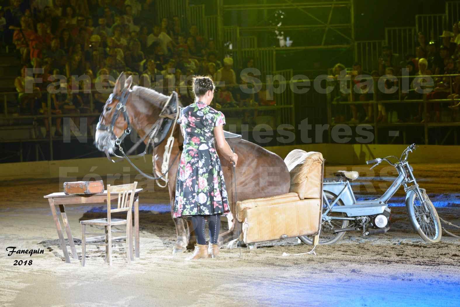 "Nuits Équestres""  de la Féria de BÉZIERS 2018 - Samedi 11 Août - ""La MÛLE"" - 5"