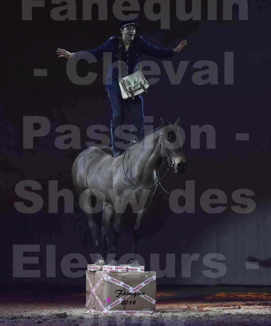 Cheval Passion 2018 - Spectacle les Crinières d'OR - SAMEDI - Le FACTEUR 2 - 3